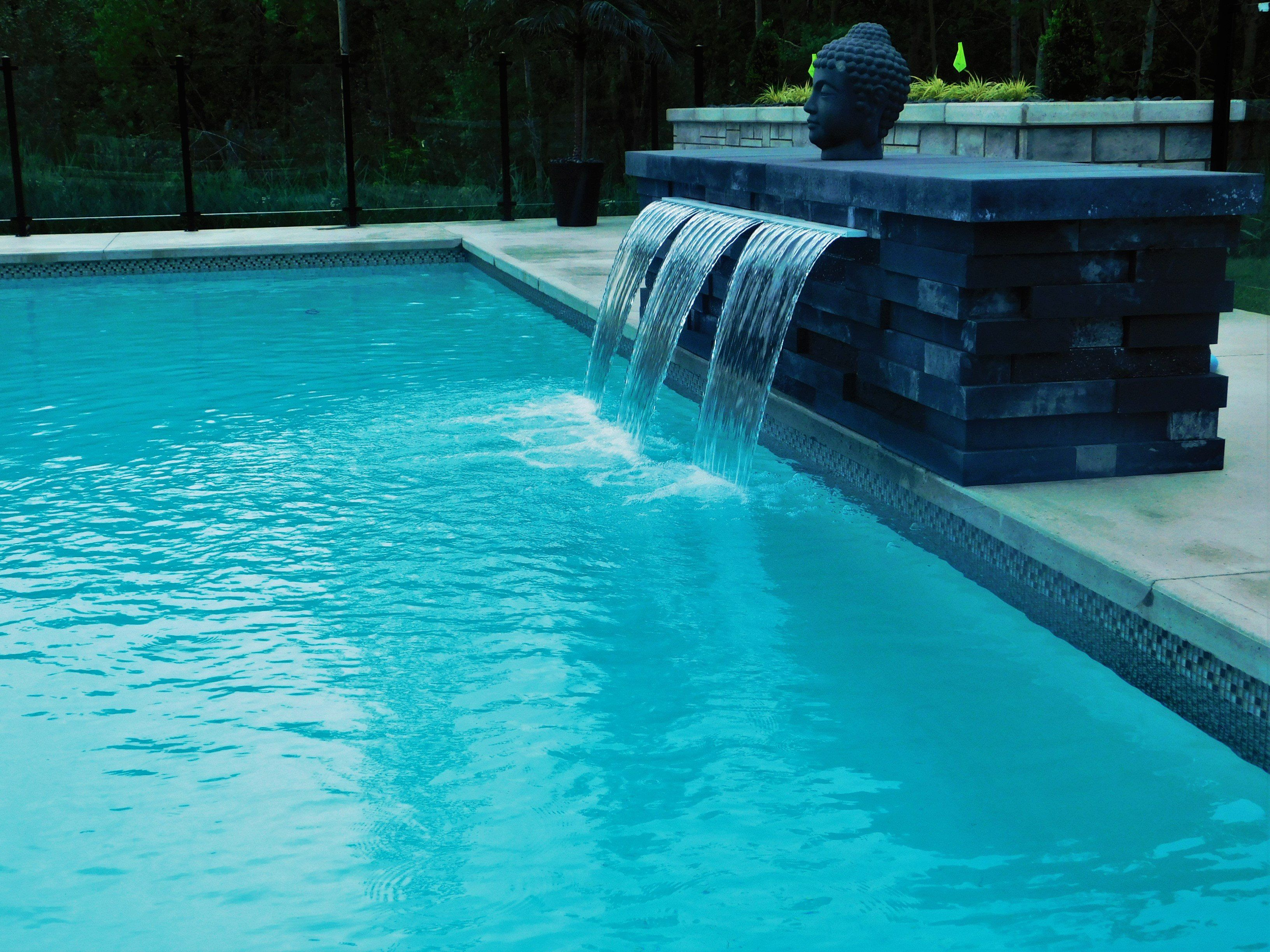 inground pools with waterfalls and hot tubs. H Inground Pools With Waterfalls And Hot Tubs T